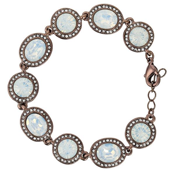 Armband - White Opal