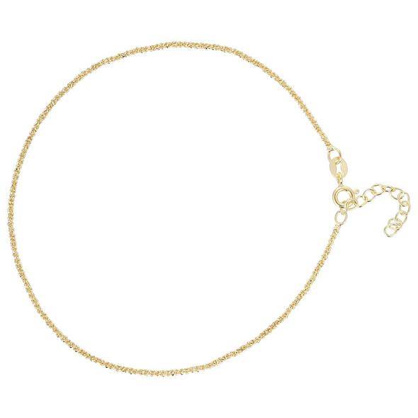 Fußkette - Shiny Gold
