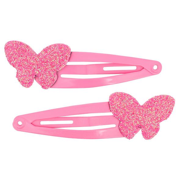 Spangen-Set - Glitter Butterflies