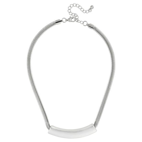 Kette - Flat Silver