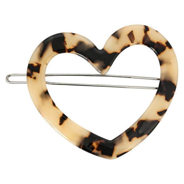 Haarklammer - Marble Heart
