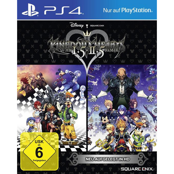 SquareEnix Kingdom Hearts HD 1.5 & 2.5 Remix