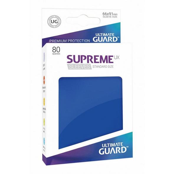 Ultimate Guard: Supreme UX Sleeves Standardgröße Blau