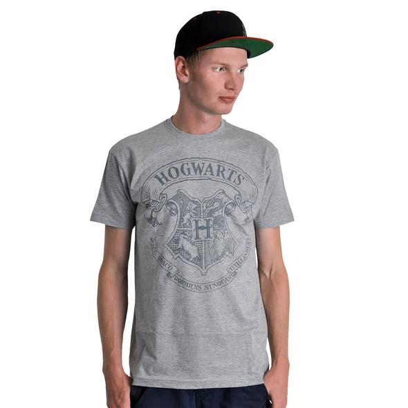 Harry Potter - Logo T-Shirt grau