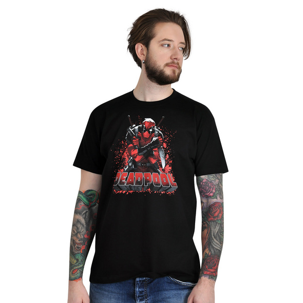 Deadpool - Great Ass T-Shirt schwarz