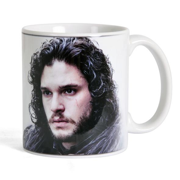 Game of Thrones - Jon Snow Tasse weiß