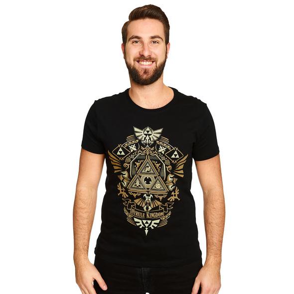 Zelda - Hyrule Kingdom T-Shirt schwarz