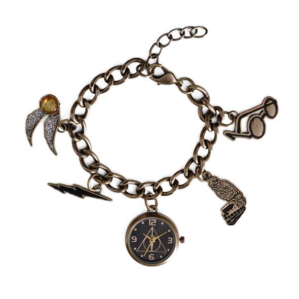 Harry Potter - Charm Armband mit Uhr