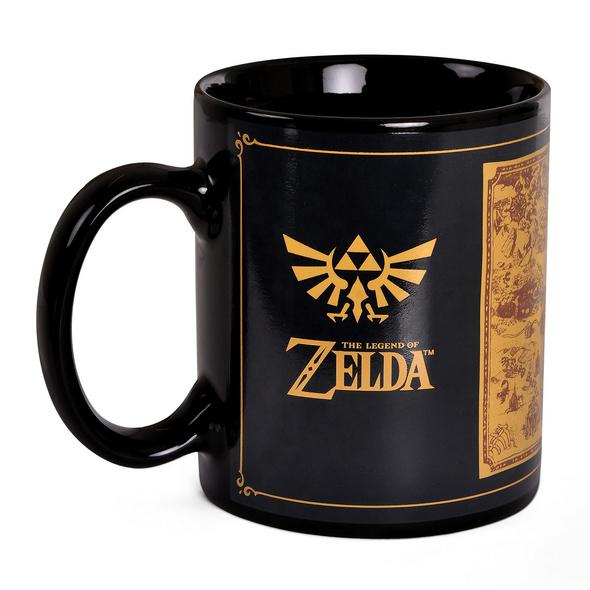 Zelda - Map Silhouette Thermoeffekt Tasse