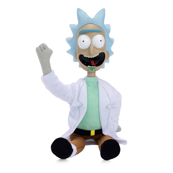 Rick and Morty - Rick Figur mit Sound 35 cm