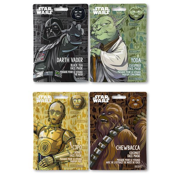 Star Wars - Characters Sheet Masken 4er Set