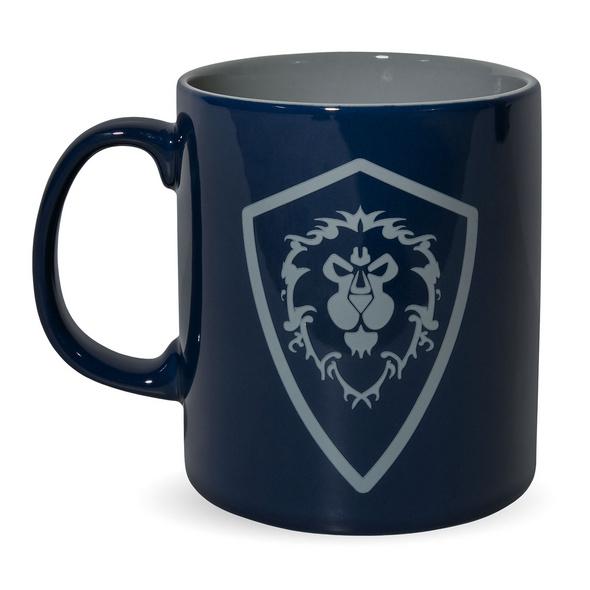 World of Warcraft - For the Alliance Tasse blau-grau
