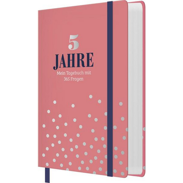 5 Jahre - Mein Tagebuch mit 365 Fragen