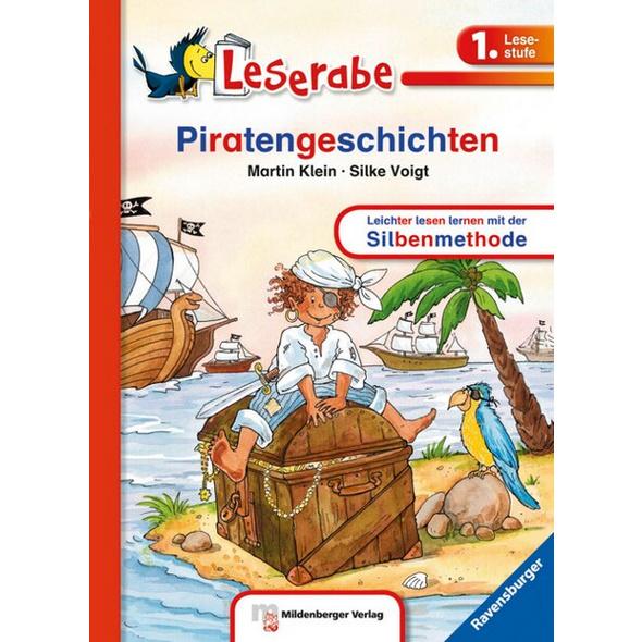 Piratengeschichten - Leserabe 1. Klasse - Erstlesebuch für Kinder ab 6 Jahren