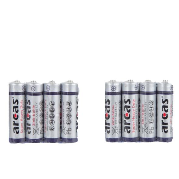 8er Mignonbatterien