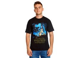 Star Wars - A New Hope Classic T-Shirt schwarz