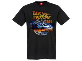 Zurück in die Zukunft - Time Travel T-Shirt schwarz