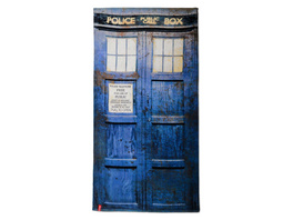 Doctor Who - Distressed Tardis Badetuch