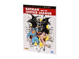 Batman und die Justice League - DC Comics Ausmalbuch