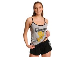 Dancing Groot Pyjama Damen kurz mit Spitze - Guardians of the Galaxy