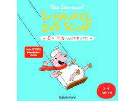 Schaukel das Schaf - Ein Mitmachbuch. Für Kinder von 2 bis 4 Jahren